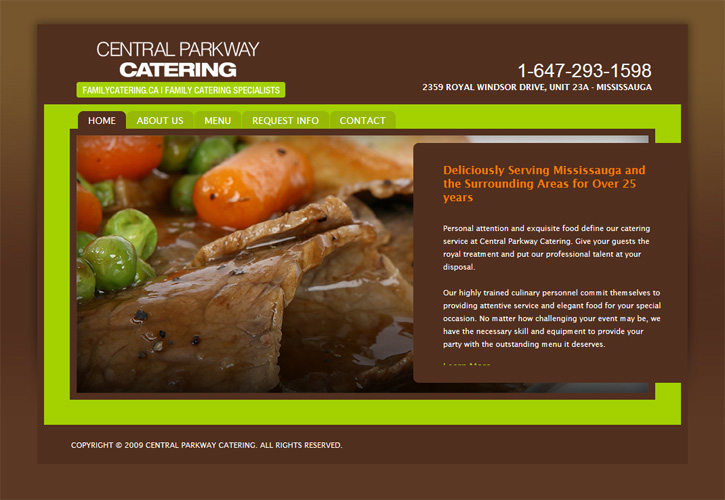 Central Parkway Catering